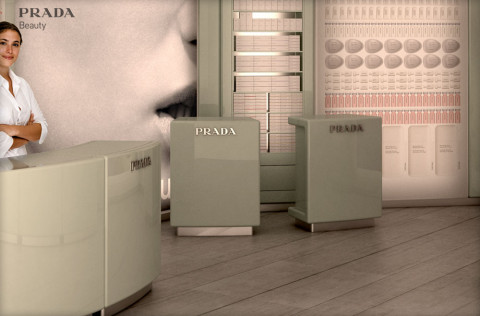 PRADA Beauty Shops